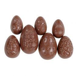 Assortiment d'œufs de Pâques