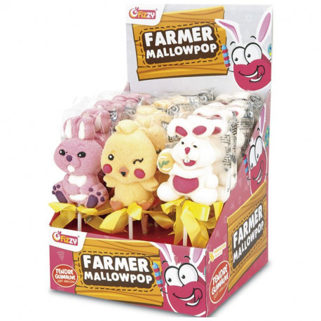 Brochette Mallow pop 35g
