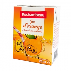 Jus d'orange ABC 20cl