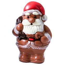 Père Noël classique lait coloré 17cm