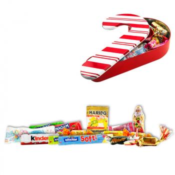 Boîte candy cane 10 pièces - 122g