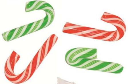 Candy cane mini rouge & Blanc