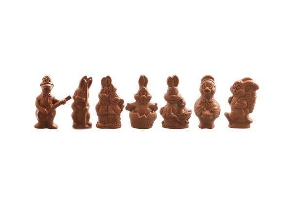 Assortiment Grandes figurines 220g Lait
