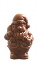 Petit Père Noël classique lait 10cm