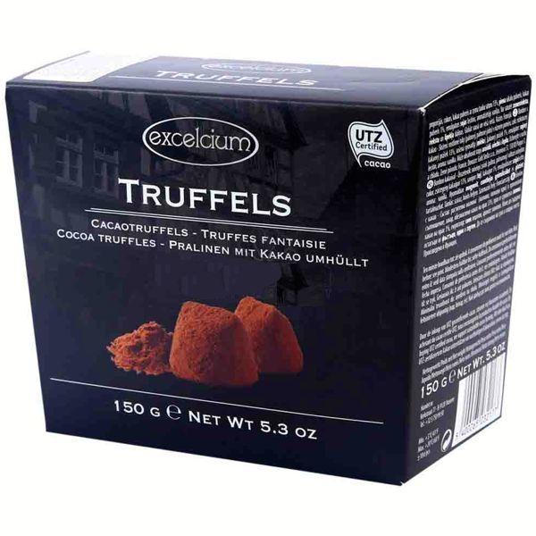 Truffes fantaisie black 150g - 24 pièces