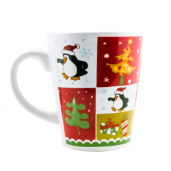 Mugs de Noël assortis