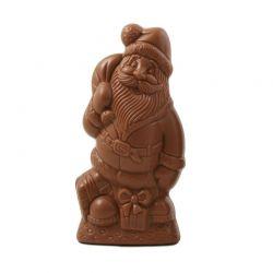 Père Noël avec ses cadeaux 15cm
