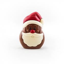 Père Noël classique lait coloré 10cm