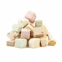 Cubes Tendres Blancs sans Amandes
