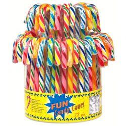 Tubo 72 Candy canes fruit 14g