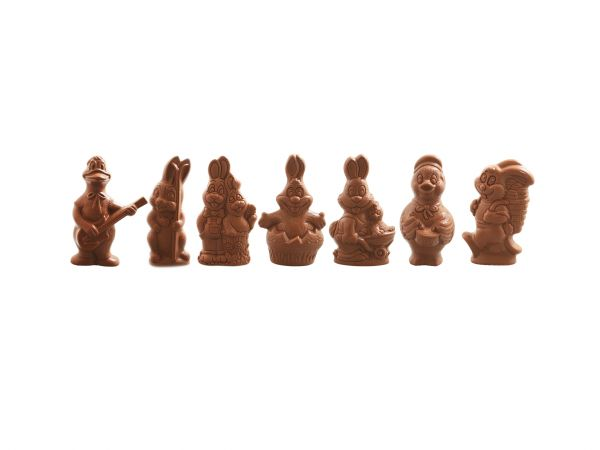 Assortiment Grandes figurines 220g Lait
