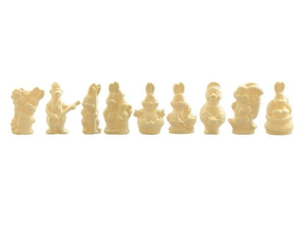 Assortiment Grandes figurines 220g Blanc