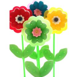 KIT Fleurs Arlequins